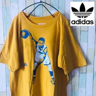 アディダス(adidas)のアディダス Tシャツ 半袖  USA 古着 アメリカ古着 90's メンズ(Tシャツ/カットソー(半袖/袖なし))