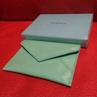 ティファニー(Tiffany & Co.)のTiffany&Co. ティファニー レター型 カードケース(名刺入れ/定期入れ)