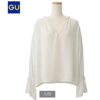 ジーユー(GU)の【GU】キャンディスリーブブラウス(シャツ/ブラウス(長袖/七分))