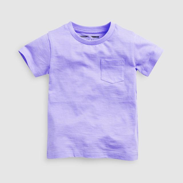 NEXT(ネクスト)の【新品】next パープル 半袖Tシャツ(ヤンガー) キッズ/ベビー/マタニティのベビー服(~85cm)(Tシャツ)の商品写真