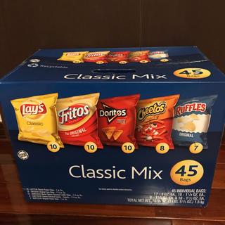 コストコ - アメリカのチップス 45袋