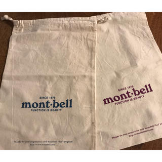 mont bell - モンベル ギフトバック 2枚セット