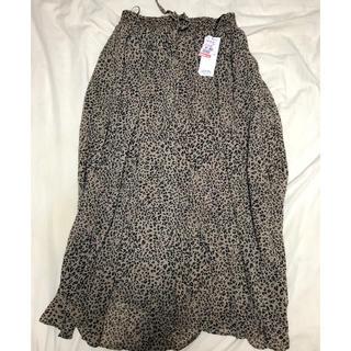 しまむら - 新品未使用タグ付き レオパードスカート