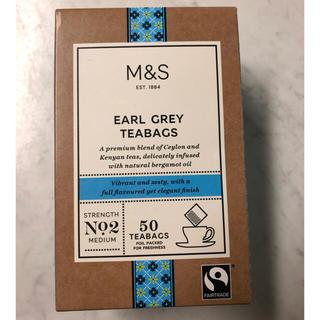 新品 マークス&スペンサー  紅茶 アールグレイ M&S (茶)