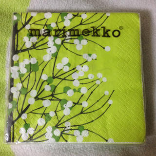 マリメッコ(marimekko)のマリメッコ ペーパーナプキン 20枚 未使用(テーブル用品)