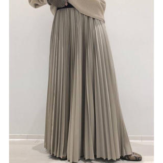 L'Appartement DEUXIEME CLASSE - 新品◆ベージュ◆L'Appartement New Pleats スカート◆