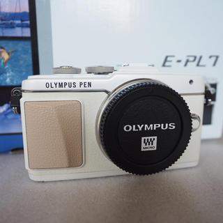 OLYMPUS - 美品 オリンパス ペン PEN E-PL7 ボディー ホワイト 付属品完備