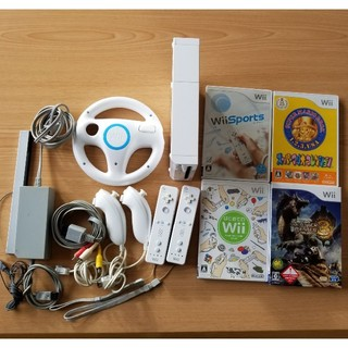 Wii - ニンテンドーwii本体 リモコン ヌンチャク ソフト
