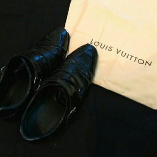 ルイヴィトン(LOUIS VUITTON)のLOUISE VUITTON/ルイヴィトン/エナメルドレスシューズ/ローファー(ドレス/ビジネス)
