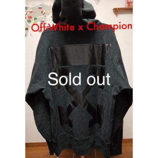 オフホワイト(OFF-WHITE)のOff-White x Champion hoodie S/S2018(パーカー)