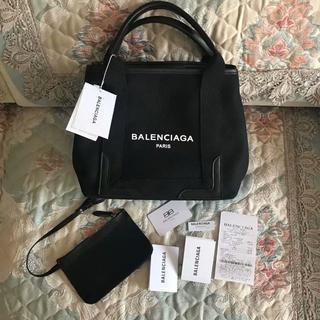 Balenciaga - Balenciaga ブラック キャンバス トートバッグ