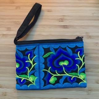 titicaca - モン族 刺繍 ポーチ