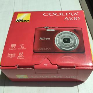 Nikon - ニコン デジカメ COOLPIX レッド 2019年5月8日購入