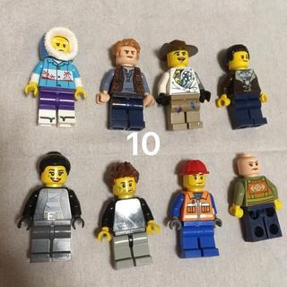 レゴ(Lego)の10 レゴ ミニフィグセット 8体 ミニフィギュア  レゴブロック  (キャラクターグッズ)