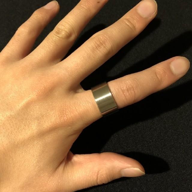極太ステンレスリング 【17サイズ】他サイズ相談 メンズのアクセサリー(リング(指輪))の商品写真