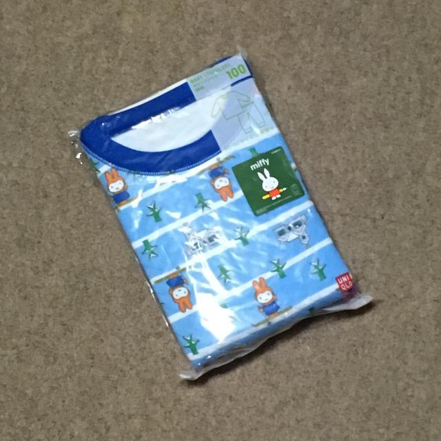 UNIQLO(ユニクロ)のUNIQLOパジャマ100 キッズ/ベビー/マタニティのキッズ服 男の子用(90cm~)(パジャマ)の商品写真