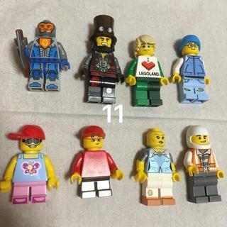 レゴ(Lego)の11 レゴ ミニフィグセット 8体 ミニフィギュア  レゴブロック  (キャラクターグッズ)