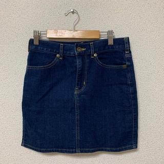 ジーユー(GU)のデニムタイトスカート(ひざ丈スカート)