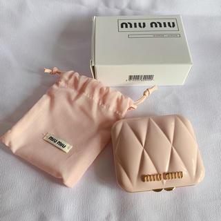 miumiu - miumiu ミュウミュウ香水限定ノベルティ ミラー 新品