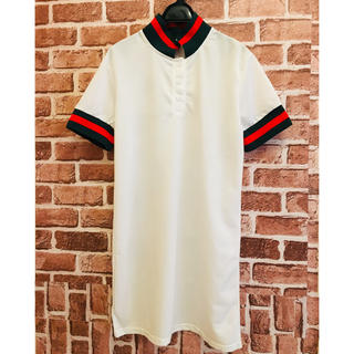 ZARA - 【送料無料】ラインワンピース 半袖ワンピース 半袖ドレス 夏物 新商品 ホワイト