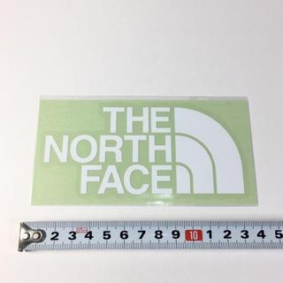 THE NORTH FACE - ノースフェイス ステッカー : カッティング ホワイト