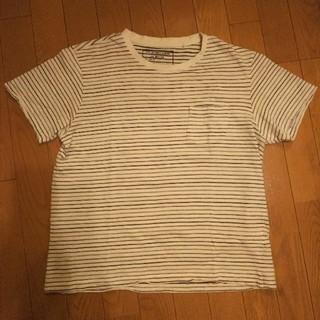 ジーユー(GU)のGU ボーダーTシャツ M(Tシャツ/カットソー(半袖/袖なし))