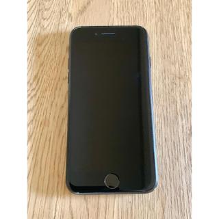 アイフォーン(iPhone)のiPhone7 128GB ブラック 【SIMロック解除済】(携帯電話本体)