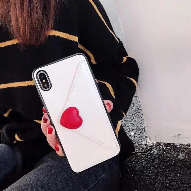 ハート♡ラブレター型  ☆新品☆ iPhoneケース ☆78/X.XS/ XRの通販 by matsuhana's shop  |ラクマ