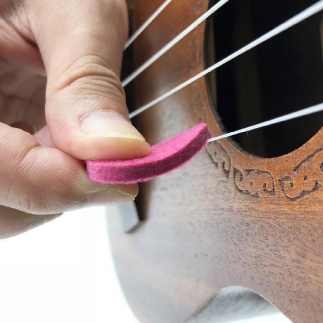 ソフトなウクレレ用フェルトピック 3枚 楽器のウクレレ(その他)の商品写真