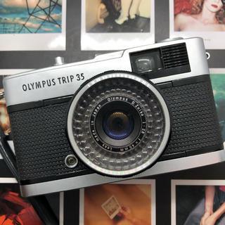 オリンパス(OLYMPUS)の【美品】OLYMPUS trip35 フィルムカメラ【完動品】(フィルムカメラ)