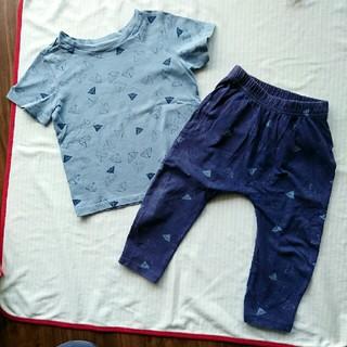1d2696c9dd2ba0 Old Navy - オールドネイビー 85 90 セットアップ パジャマ Tシャツ パンツ ユニクロ