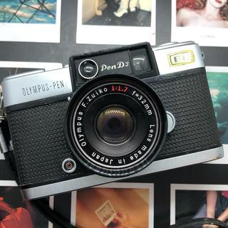 オリンパス(OLYMPUS)の【完動品】OLYMPUS  PEN D3 フィルムカメラ【美品】(フィルムカメラ)