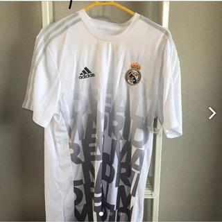 アディダス(adidas)の新品 adidas Tシャツ ホワイト ユニホーム(Tシャツ/カットソー(半袖/袖なし))