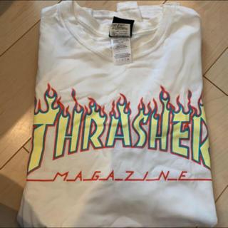 THRASHER - THRASHER   Tシャツ 白サイズL