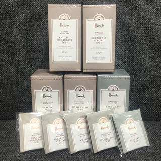 ハロッズ ★ティーバッグ アソート★紅茶5種20袋(茶)