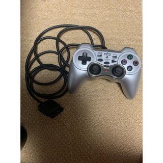 プレイステーション2(PlayStation2)のアナログ振動パッド2 TURBO シルバー(家庭用ゲーム本体)