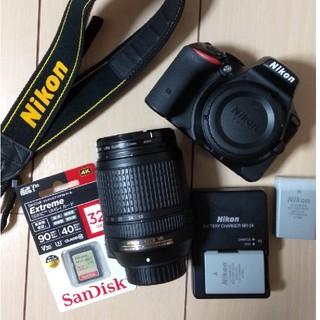Nikon - nikon d5500 18-140mm f3.5-5.6 レンズセット