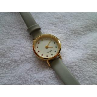 ete - jouete 腕時計 カラフルスワロフスキー 美品