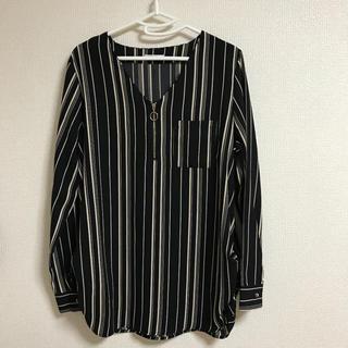 シマムラ(しまむら)の美品❁ しまむら 長袖シャツ Mサイズ(シャツ/ブラウス(長袖/七分))