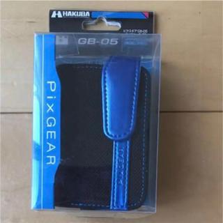 ハクバ(HAKUBA)の新品★Pix GEAR ピクスギア デジカメ ケース BLUE ブルー★(ケース/バッグ)
