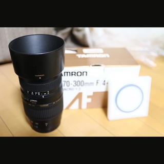 TAMRON - Canon望遠レンズ TAMRON 70-300 F4-5.6 Di macro