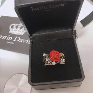 ジャスティンデイビス(Justin Davis)のジャスティンデイビス 薔薇 リング(リング(指輪))