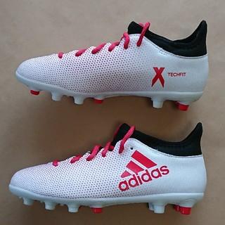 アディダス(adidas)のサッカーS 22.5cm アディダス X17.3 HG J(シューズ)