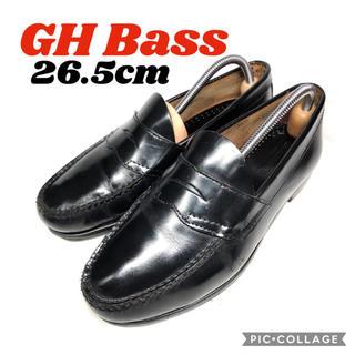 ジーエイチバス(G.H.BASS)の翌日発送♪★GH Bass★ジーエイチバス★ペニーローファー★黒★26.5cm(ドレス/ビジネス)