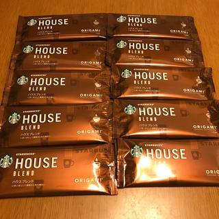 スターバックスコーヒー(Starbucks Coffee)のスターバックスハウスブレンド  10袋(コーヒー)