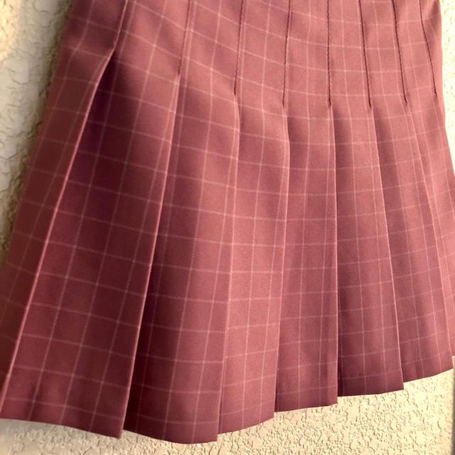韓国で購入 / ピンクチェック柄 テニススカート レディースのスカート(ミニスカート)の商品写真