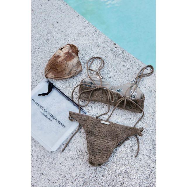 room306 CONTEMPORARY(ルームサンマルロクコンテンポラリー)のRoom306 Back Design Bikini ビキニ 水着 レディースの水着/浴衣(水着)の商品写真