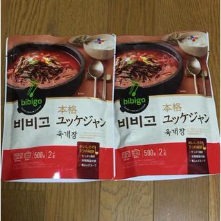 コストコ(コストコ)のりりさま専用bibigoユッケジャン 500g×10袋(レトルト食品)