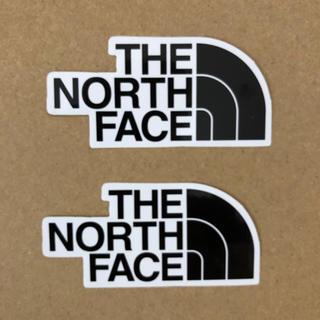 ザノースフェイス(THE NORTH FACE)の新品未使用! ノースフェイス  ステッカー 2枚組(その他)