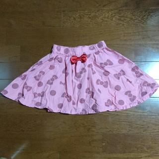 ブリーズ(BREEZE)のBREEZE キティちゃんリボンスカート110(スカート)